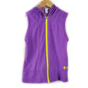 Under Armour Inside Out Sleeveless Hoodie Youth M